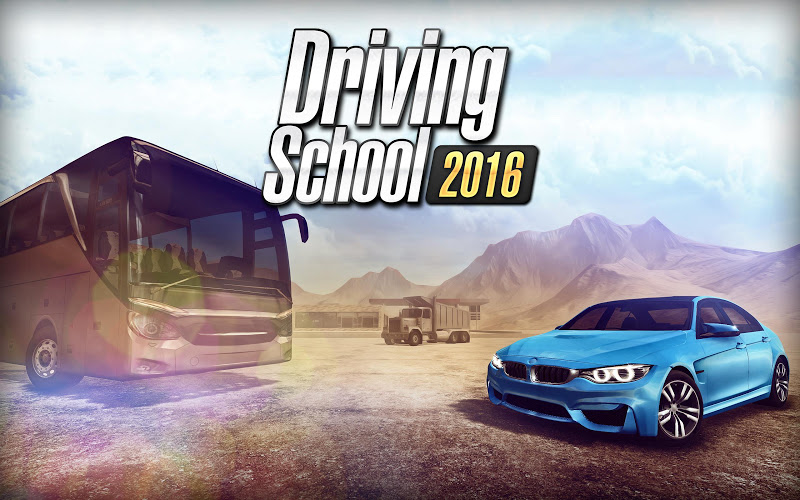 Driving School 2016 Android App Screenshot