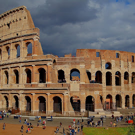 Ancient by Nerijus Liulys - Buildings & Architecture Public & Historical ( building, colosseum, ancient, hdr, rome, italy )