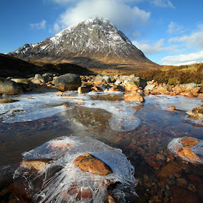 Stob Dearg by Wolfy Pic - Landscapes Mountains & Hills