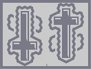 Thumbnail of the map 'Peter's Lavender Neon Crucifix'