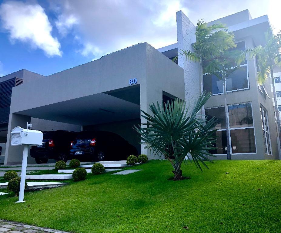Casa com 4 dormitórios à venda, 300 m² por R$ 1.500.000 - Altiplano Cabo Branco - João Pessoa/PB
