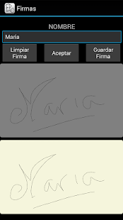 Mi Firma - screenshot