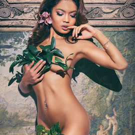 Original Sin by Perry Cucinotta - Nudes & Boudoir Artistic Nude ( sexy, nude, eve, female, implied, jam, adam & eve, asian, photoshop )