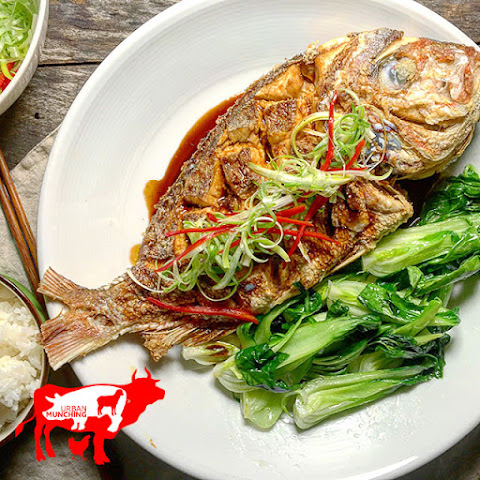 Deep Fried Whole Snapper