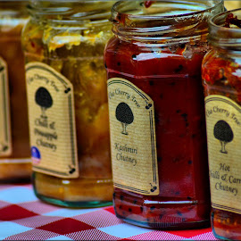 Variety of sauces by Nic Scott - Food & Drink Cooking & Baking ( sauces, food, sauce, jars,  )