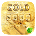 Gold Pro GO Keyboard Theme APK for Bluestacks
