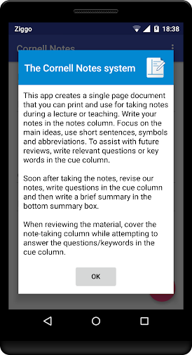 Cornell Notes APK