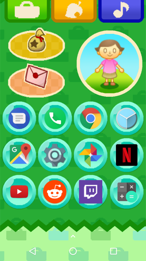 Animal Crossing New Leaf Theme von Yoshikeeper android apps download