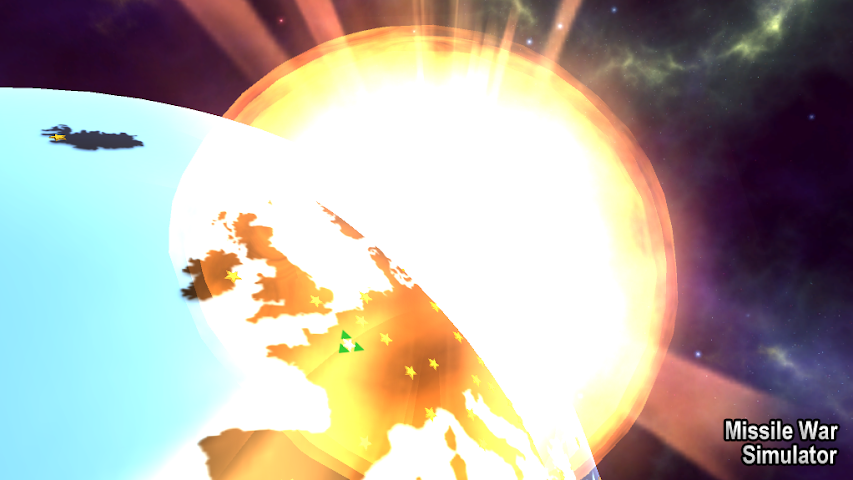 android Missile War Simulator Screenshot 1