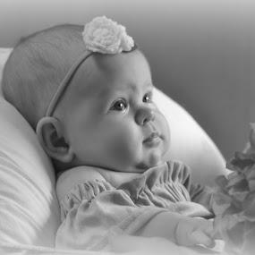 Miss Emily by Brenda Shoemake - Black & White Portraits & People (  )
