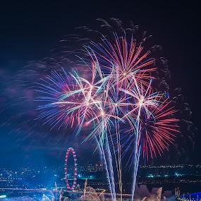 NDP firework 2012 by Maskun Ramli - News & Events Entertainment