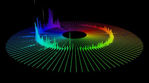 Spectrum music visualizer for pc windows and mac Online visualizer