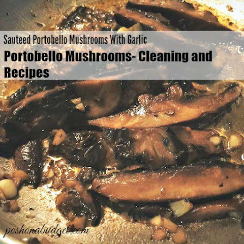 Sauteed Portobello Mushrooms With Garlic