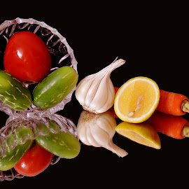 LEMON GARLIC by SANGEETA MENA  - Food & Drink Ingredients