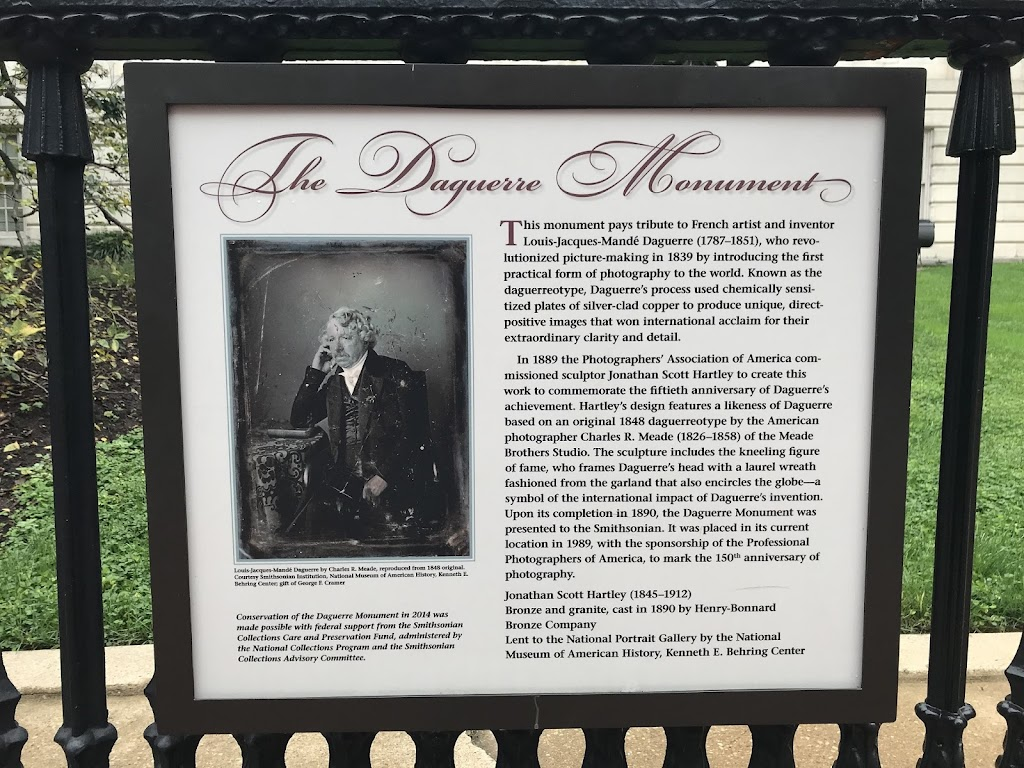 The Daguerre Monument This monument pays tribute to French artist and inventor Louis-Jacques-Mandé-Daguerre (1787-1851), who revolutionized picture-making in 1839 by introducing the first practical ...