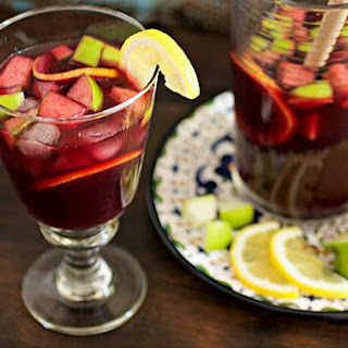 Red Wine Sangria With Fruit Recipes