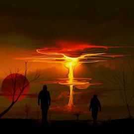 Apocalipsis by Alberto Nadgar R. - Illustration Sci Fi & Fantasy ( ilustracion ficcion, ficcion, ilustracion, anadgar )