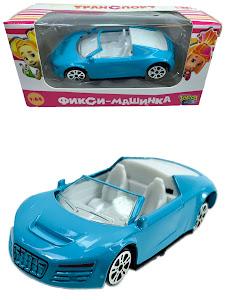 """Машинка гоночная """"Фиксики"""" 1:64 Симка голубая"""