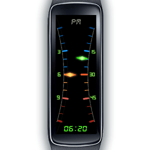 Gear Fit Dual Hybrid Clock