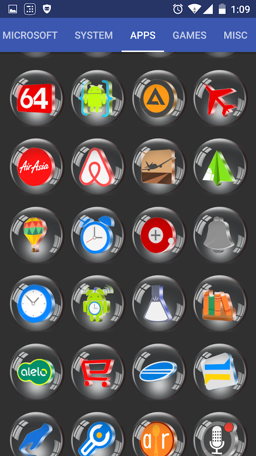 Glass 3D Icon Pack Screenshot 5