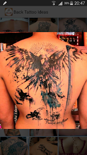 Back Tattoo Ideas - screenshot