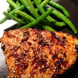 Grilled Tuna Steaks Sesame Oil Recipes