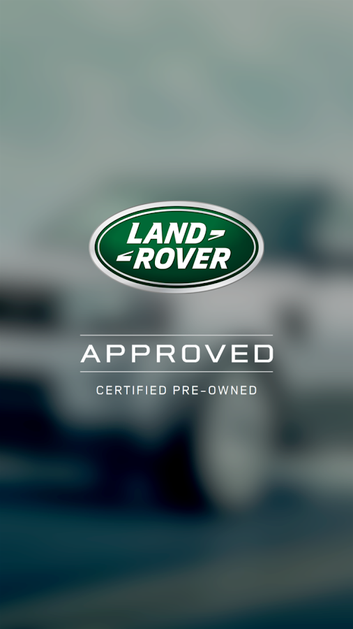 LAND ROVER APPROVED CARS MENA Screenshot