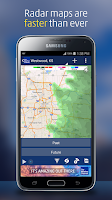 Screenshot of The Weather Channel
