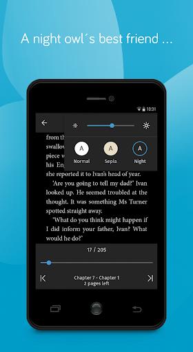 tolino e-book reading app - books reader screenshot 3