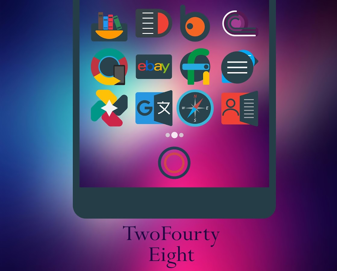 Mellow Darkness - Icon Pack Screenshot 2