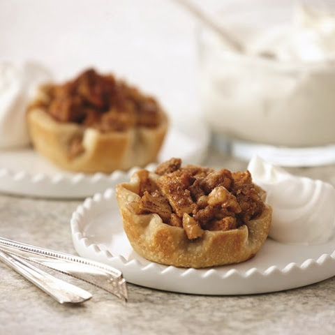 Easy Mini Apple Pies with Dairy-Free Vanilla Whip