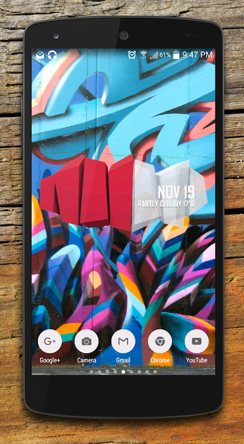Kube Zooper widget pack Screenshot 0