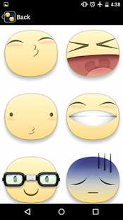 Stickers for Facebook - screenshot