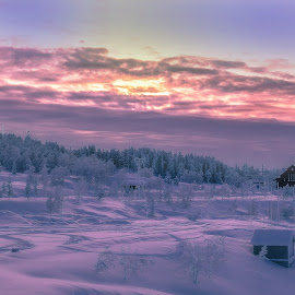Porjus old powerplant in Lappland Swe by Peter Björklund - Landscapes Mountains & Hills (  )