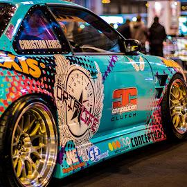 s14 drift car by Mike Newland - Transportation Automobiles ( car, s14, drift )