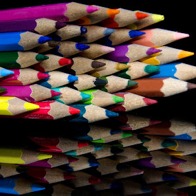 Color Pencils by Micoy Ausa - Artistic Objects Other Objects
