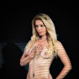 Fiona by Adriaan Oosthuizen - Nudes & Boudoir Boudoir ( blonde, rampix photography, fine art, gobo, saracen, @rampix_mk, #rampix, nudity )