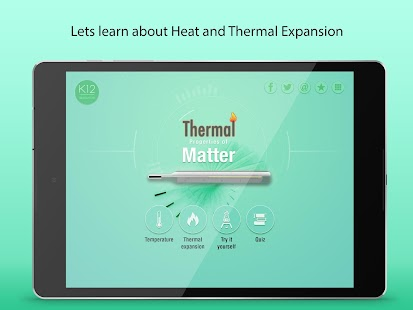 Thermal Properties of Matter - screenshot