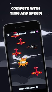 Tap on Airplanes - screenshot