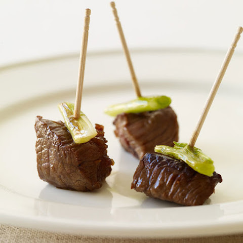Asian Beef and Scallion Bites