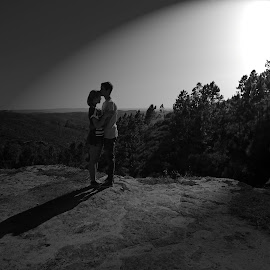 The true love by Patricia Vale - People Couples ( love, nature, black and white, couples,  )