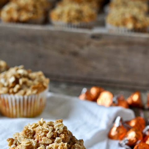 Pumpkin Kisses Muffins