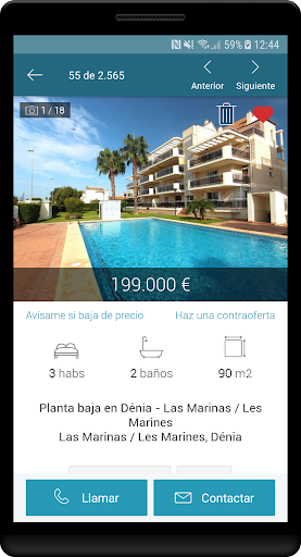 Fotocasa rent and sale screenshot 3