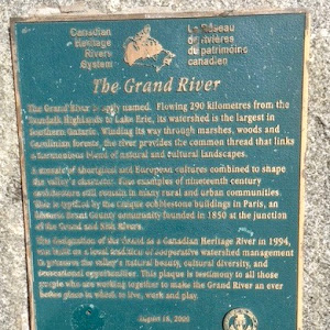 The Grand River The Grand River is aptly named. Flowing 290 km from the Dundalk Highlands to Lake Erie, its watershed is the largest in southern Ontario. Winding its way through marshes, woods and ...