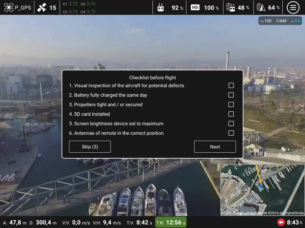 Top Pilot DJI Phantom/Inspire Screenshot 1