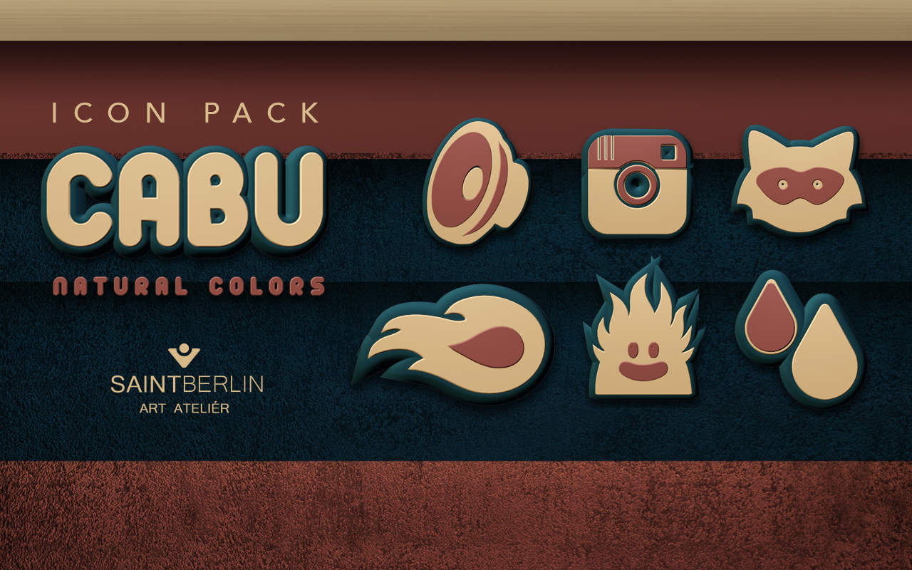 Cabu Icon Pack Natural Colors Screenshot 6