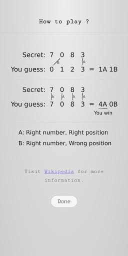 Guess Number - Logical Reasoning screenshot 1