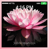 Lock screen Wallpaper: Lotus