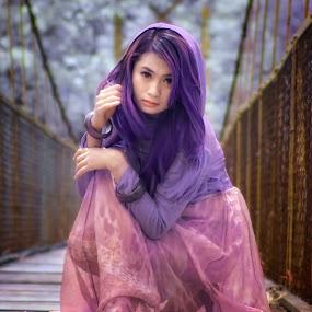 jembatan unyu  by Andika K Wardana - People Portraits of Women