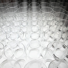 Illuminated Glasses by Pudjiyanto Oentoro - Abstract Patterns